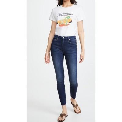 マザー MOTHER レディース ジーンズ・デニム ボトムス・パンツ High Waisted Looker Ankle Fray Jeans Tongue and Chic