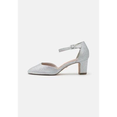 タマリス ヒール レディース シューズ Classic heels - silver glam