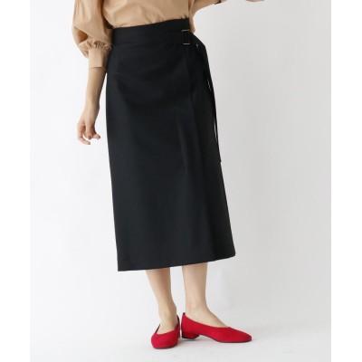 DRESSTERIOR(Ladies)(ドレステリア(レディース)) ベルト付きメルトンスカート