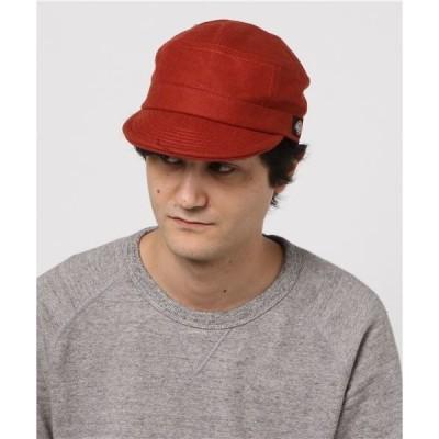 帽子 キャップ 【DICKIES】別注メルトンワークキャップ