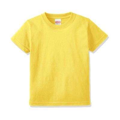 (ユナイテッドアスレ)UnitedAthle 5.6オンス ハイクオリティー Tシャツ 500102 [キッズ] 021 イエロー 90