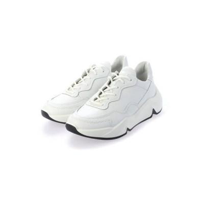 エコー ECCO ECCO CHUNKY SNEAKER W Sneaker (WHITE)