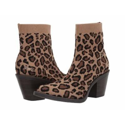 ブローフィッシュ レディース ブーツ&レインブーツ シューズ Luckey Leopard Knitty Kitty