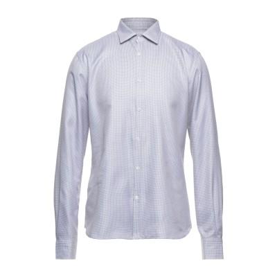アリーニ AGLINI シャツ ライトグレー 43 コットン 100% シャツ
