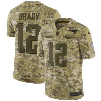 NFL ペイトリオッツ トム・ブレイディ ユニフォーム/ジャージ サルート トゥ サービス リミテッド ナイキ/Nike カモ