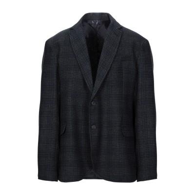 トラサルディ ジーンズ TRUSSARDI JEANS テーラードジャケット ダークブルー 54 ウール 55% / ポリエステル 35% / ナイ