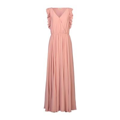 リュー ジョー LIU •JO ロングワンピース&ドレス ローズピンク 44 ポリエステル 100% ロングワンピース&ドレス