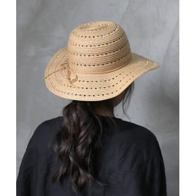a.depeche / mesh flare hat / メッシュフレアハット  サマーハット WOMEN 帽子 > ハット