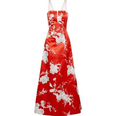 アリス・アンド・オリビア ALICE + OLIVIA ロングワンピース&ドレス レッド 8 ポリエステル 100% / シルク ロングワンピース&