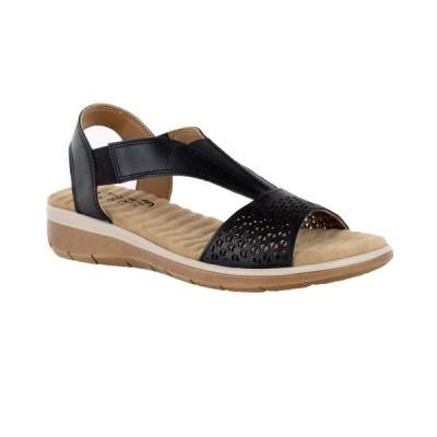 イージーストリート レディース サンダル シューズ Marley Leather Sandals