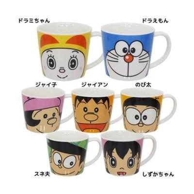アニメキャラクター グッズ ドラえもん マグカップ フェイスマグS 金正陶器