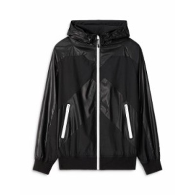 ケンゾー メンズ ジャケット・ブルゾン アウター Sport Hooded Windbreaker Black