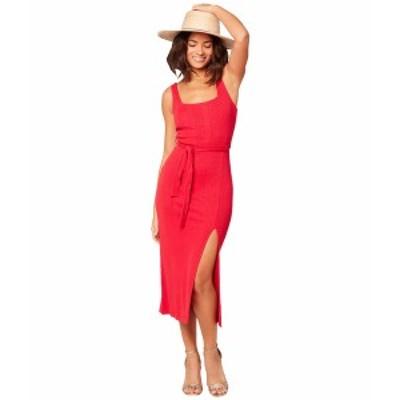 エルスペース レディース ワンピース トップス Palm Beach Dress Lipstick Red