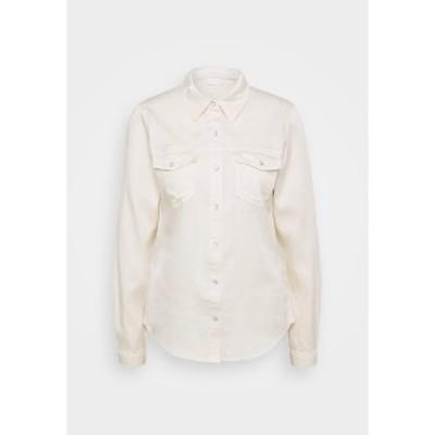 ヴィラ レディース シャツ トップス VIBISTA  - Button-down blouse - birch birch