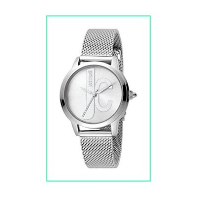 Just Cavalli Womens Analogue Classic Quartz Watch with Stainless Steel Strap JC1L050M0065並行輸入品