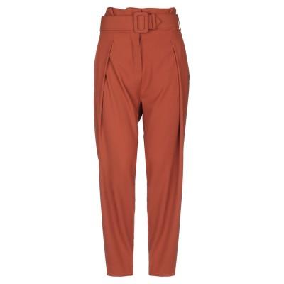 OTTOD'AME パンツ 赤茶色 40 ポリエステル 97% / ポリウレタン 3% パンツ