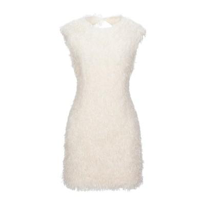 スーベニア SOUVENIR ミニワンピース&ドレス アイボリー S ポリエステル 100% ミニワンピース&ドレス