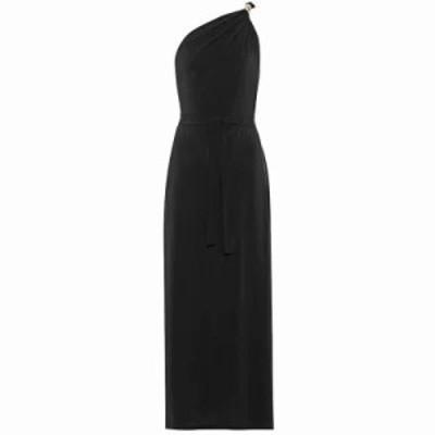 マックスマーラ パーティードレス Urta one-shoulder dress schwarz