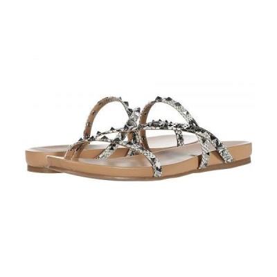 Steve Madden スティーブマデン レディース 女性用 シューズ 靴 サンダル Capsize Flat Sandal - Natural Snake