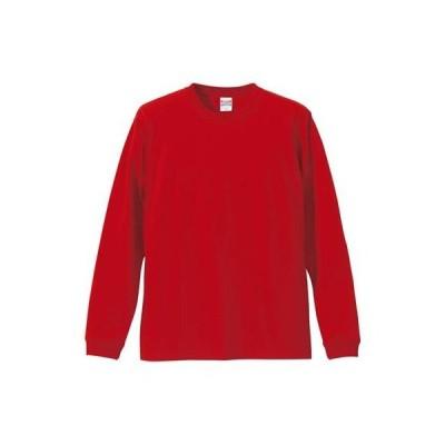 (ユナイテッドアスレ)UnitedAthle 5.6オンス 長袖Tシャツ(1.6インチリブ) 501101 [メンズ] 069 レッド XL