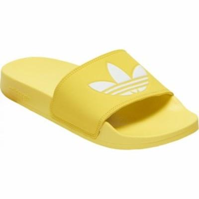 アディダス adidas レディース サンダル・ミュール シューズ・靴 adilette slide Shock Yellow/White/Shock Yellow