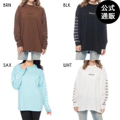 SALE 2020 RVCA ルーカ レディース RVCA SLEEVE LS ロングスリーブTシャツ 全4色 XS/S rvca