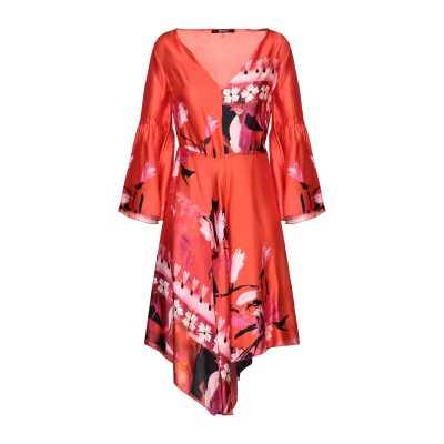 SISTE' S ミニワンピース&ドレス オレンジ XS レーヨン 100% ミニワンピース&ドレス