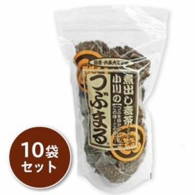 小川の煮出し麦茶 つぶまる 13g × 20パック 三角パック 10袋セット
