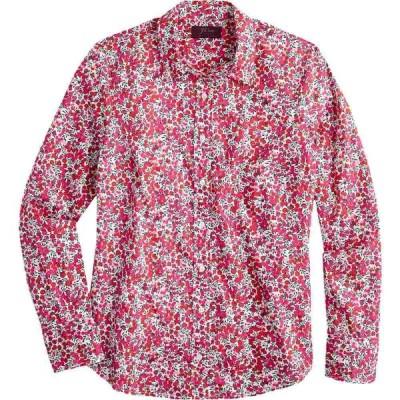 ジェイクルー J.Crew レディース ブラウス・シャツ トップス Perfect Shirt in Liberty Wiltshire Berry Multi