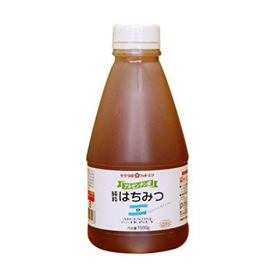加藤美蜂園本舗 サクラ印 アルゼンチン産純粋はちみつ 1500g
