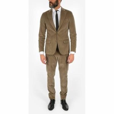 CORNELIANI/コルネリアーニ Beige メンズ CC COLLECTION RETAILORED velvet 3-button suit dk