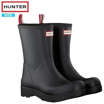 ハンター レインブーツ ブーツ メンズ 長靴 防水 靴 HUNTER ORIGINAL PLAY BOOT MID MFS9087RMAhnt024