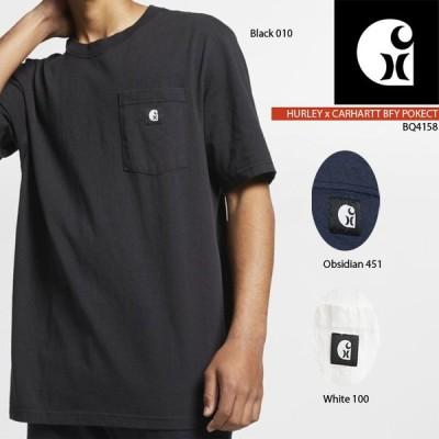 ハーレー Tシャツ HURLEYxCARHARTT BFY POCKET TEE BQ4158 メンズ 半袖 サーフ ワーク サーフィン ポケットT[ZRC]