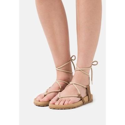 ムッセアンドクラウド サンダル レディース シューズ BELA - Sandals - taupe