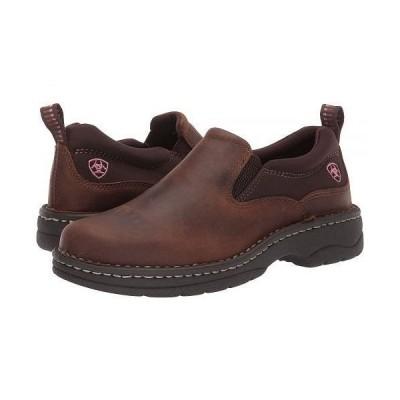 Ariat アリアト レディース 女性用 シューズ 靴 スニーカー 運動靴 Traverse - Distressed Brown