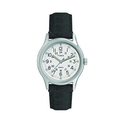 タイメックス TIMEX 腕時計 MK1 ステンレススチール ファブリック 時計ケース付き (TW2R68300(グレー))
