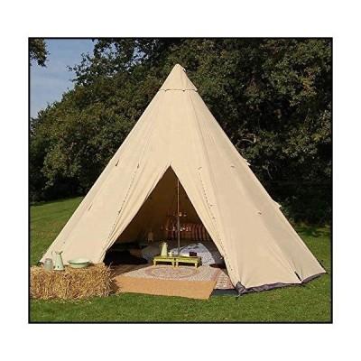 【新品】Waterproof Family Glamping Camping Bell Yurt Indian Tent New (3m - 10ft.)並行輸入品