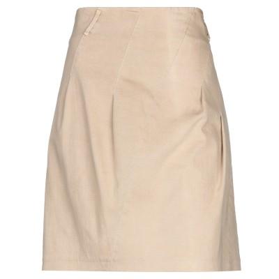 ブルネロ クチネリ BRUNELLO CUCINELLI ひざ丈スカート サンド 42 コットン 98% / ポリウレタン 2% ひざ丈スカート