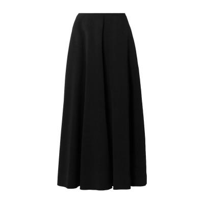 THE ROW ロングスカート ブラック 2 レーヨン 50% / アセテート 47% / ポリウレタン 3% ロングスカート