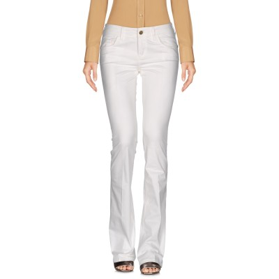 マニラ グレース デニム MANILA GRACE DENIM パンツ ホワイト 26 コットン 97% / ポリウレタン 3% パンツ