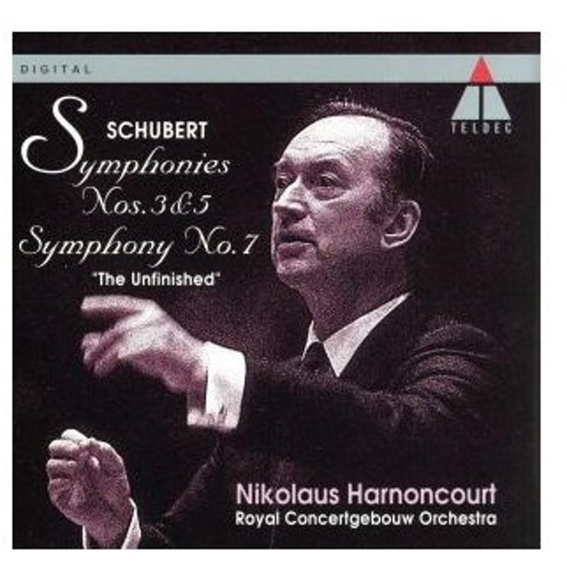 シューベルト:交響曲第3番/ニコラウス・アーノンクール 通販 LINE ...