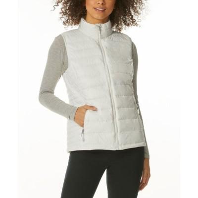 サーティーツーディグリー 32 Degrees レディース ベスト・ジレ ダウン・中綿 トップス Packable Down Puffer Vest White