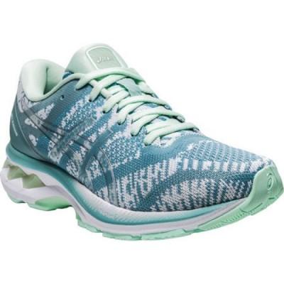 アシックス ASICS レディース ランニング・ウォーキング スニーカー シューズ・靴 GEL-Kayano 27 Running Sneaker Light Steel/White