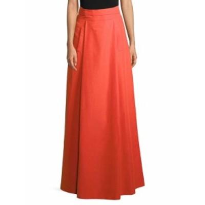 オスカーデラレンタ レディース スカート Cotton-Blend Maxi Skirt