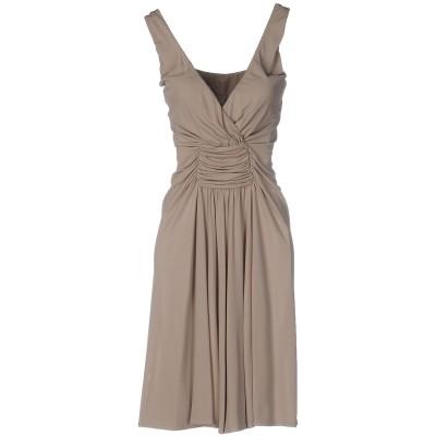 LE COL ミニワンピース&ドレス ドーブグレー 46 アセテート 62% / アクリル 33% / ポリウレタン 5% ミニワンピース&ドレス