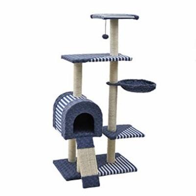 XINGZHE 猫の木と塔、猫ゲーム活動センター、サイザルで覆われたスクラッチ(新古未使用品)