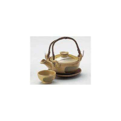 和食器黄瀬戸京形土瓶むし/大きさ・16.4×11.8×5cm・290cc