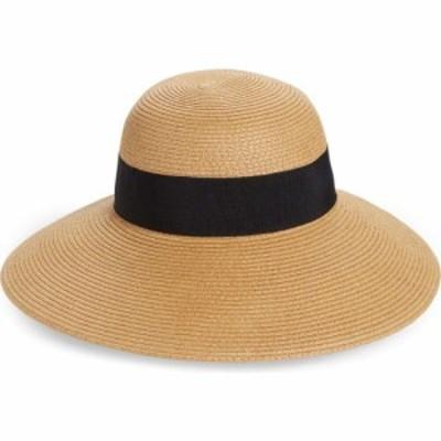ノードストローム NORDSTROM レディース ハット 帽子 Floppy Hat Tan Dark Combo
