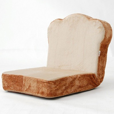 座椅子 おもしろ かわいい 一人用 1人掛 トースト 食パン メロンパン パン座椅子