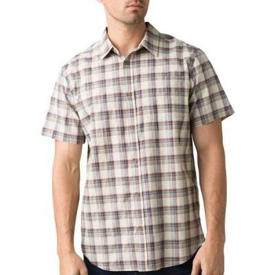 プラーナ prAna メンズ トップス スリム Bryner Slim Fit Shirt Dark Khaki